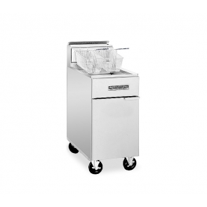 American Range AF-75 65/80lb. Heavy Duty Floor Model Fryer Gas