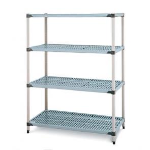 "Metro Q1860G2 18"" x 60"" MetroMax Q Storage System Polymer Shelves"