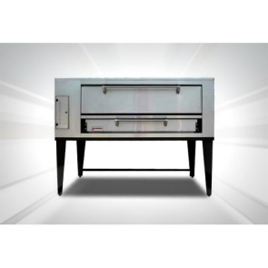 "Marsal & Sons SD-1048 SD 4 Pie Series Single Pizza Oven Deck Type Gas (4) 18"" Pie Capacity"