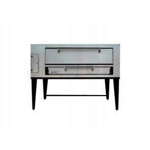 "Marsal & Sons SD-448 SD 4 Pie Series Single Pizza Oven Deck Type Gas (4) 18"" Pie Capacity"