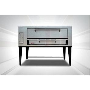 Marsal & Sons SD-866 SD 8 Pie Series Single Pizza Oven Deck Type Gas