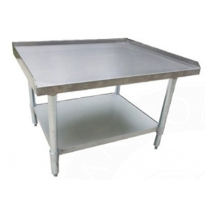"Serv-Ware ESS3036H-CWP 30""x36"" All Stainless Steel Equipment Stand"