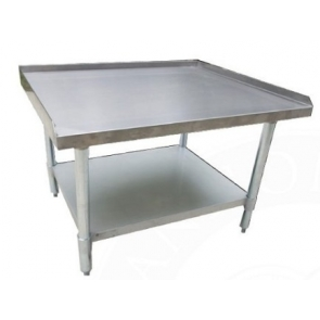 "Serv-Ware ESS3072H-CWP 30""x72"" All Stainless Steel Equipment Stand"