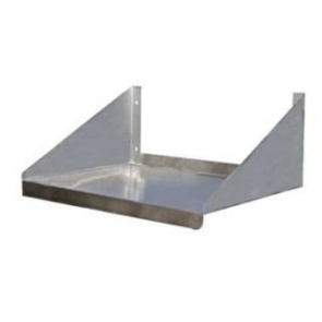 "Serv-Ware SSMS1824-CWP 18""x24"" Stainless Steel Microwave Shelf"