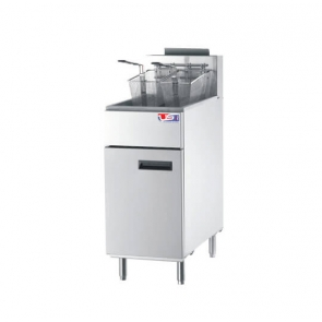 US Cooking USFF-300 40lb. Commercial LP Gas Fryer 90K BTU