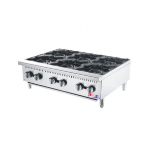 "US Cooking USFH36-6 36"" Commercial Gas 6 Burner"