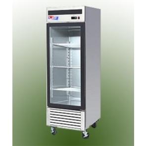 US Refrigeration USBV-24SD 1 Door Glass Reach-In Refrigerator