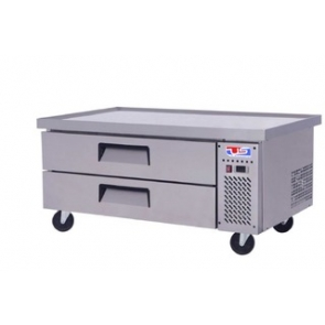 "US Refrigeration USCB-52 52"" Two Drawer Refrigerated Equipment Stand"