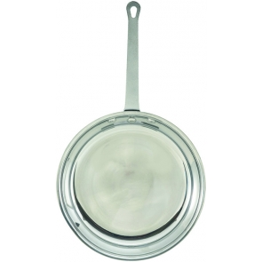 Winco AFP-8 Mirror Finish Fry Pan