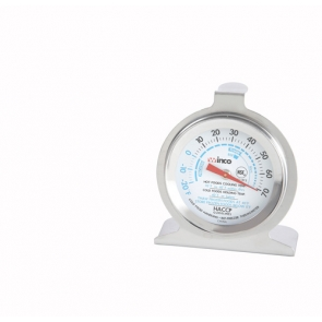 Winco TMT-RF2 Refrigerator and Freezer Thermometer