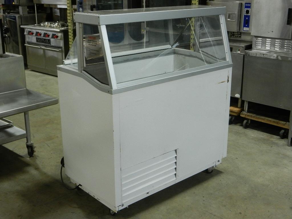 Hussmann Dcsg 8 8 Flavor Ice Cream Dipping Cabinet On